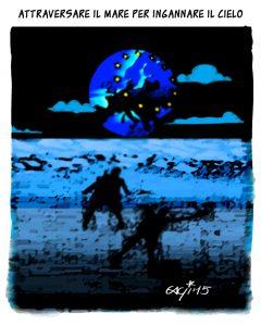 Attraversare il mare per ingannare il cielo