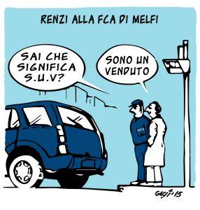 La Fca, Renzi e Marchionne