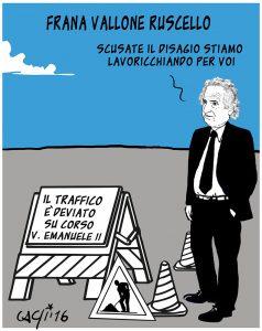 Venosa: frana via Roma