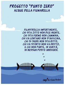 Moria di pesci alla Fiumarella
