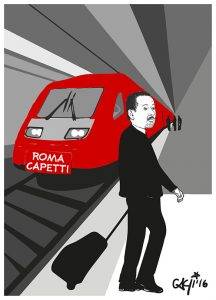 Pittella a Roma Capetti