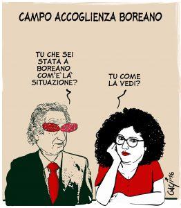 Boreano: Riavanti… Marsch!