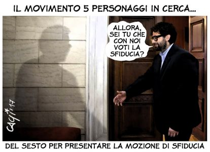 Movimento cinque personaggi in cerca…