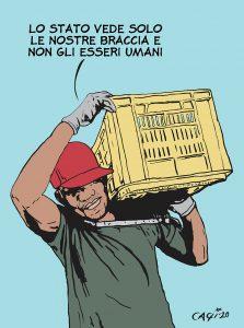 I braccianti senza diritti che nutrono il Paese in quarantena