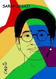 La bandiera arcobaleno continuerà a sventolare per Sarah Hegazi