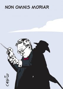 Addio compositore eterno